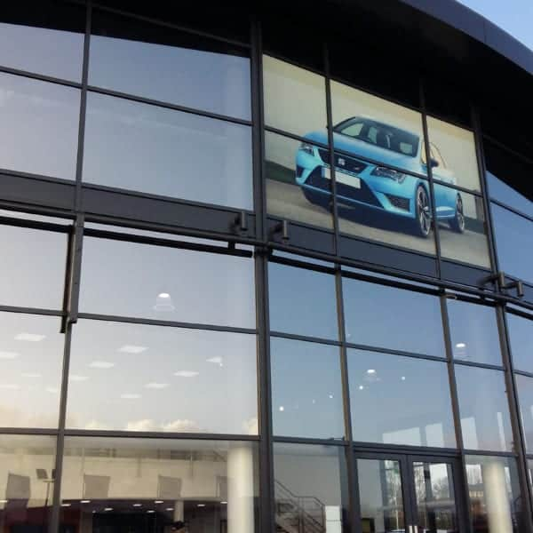Solar Window Film at SEAT Preston