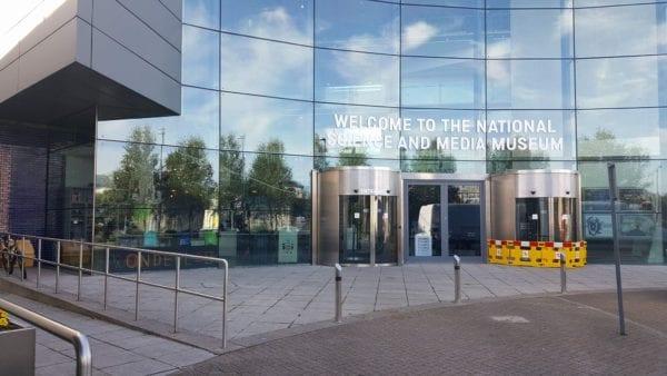 Solar Window Film applied to National Science & Media Museum, Bradford.