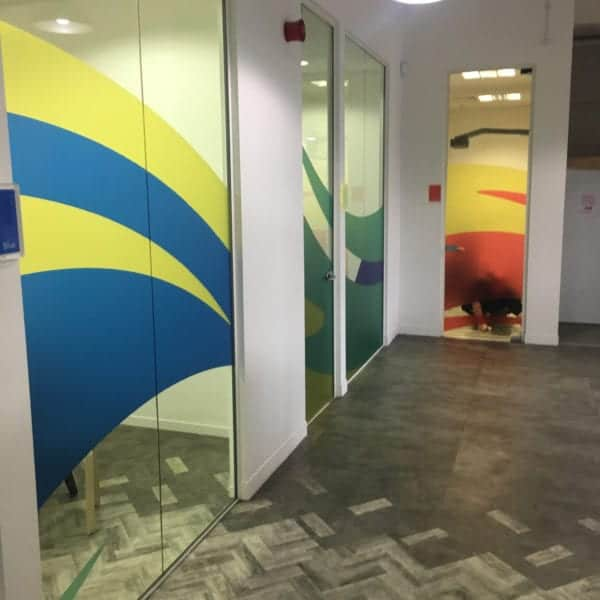 Bespoke Frosted Window Film