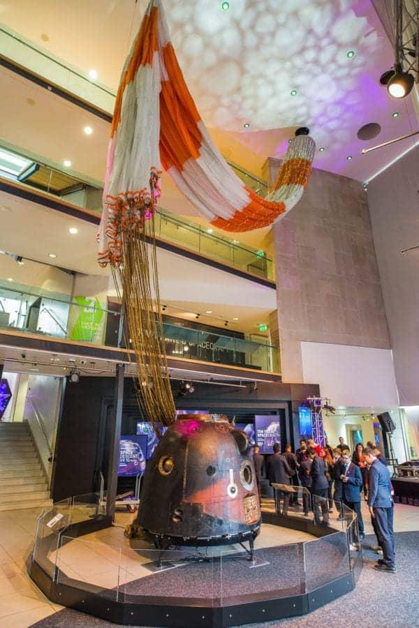 TimPeake BradfordScienceMediaMuseum JodyHartley LoRes 3 600x900 - National Window Films® protects Tim Peake's Soyuz Spacecraft at the National Science and Media Museum.